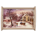 and American Homestead Winter Serving Tray