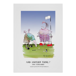 and another thing!, tony fernandes poster