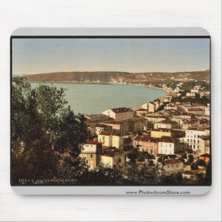 And Cape Martin, Mentone, Riviera vintage Photochr Mousepad