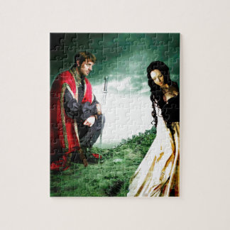 AND CHIVALRY WON HER HEART.jpg Jigsaw Puzzle