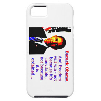 And Freedom Will Win - Barack Obama iPhone SE/5/5s Case