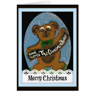 And Here's The Cinnamon Bear Card
