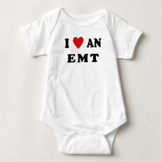 And I Love An EMT Baby Bodysuit