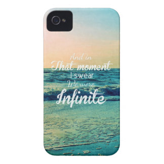And in that moment, I swear we were infinite. Case-Mate iPhone 4 Case