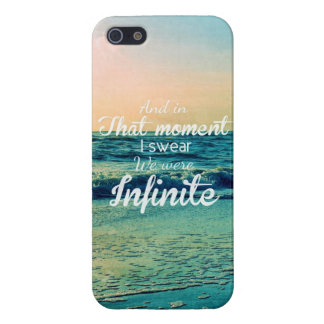 And in that moment, I swear we were infinite. iPhone 5/5S Cases