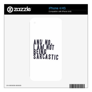 And no, I am not being sarcastic iPhone 4S Decal