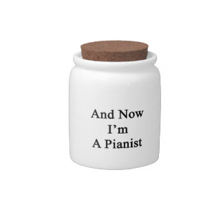 And Now I'm A Pianist Candy Jars