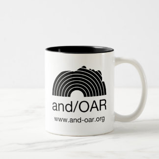 and/OAR standard Two-Tone Coffee Mug