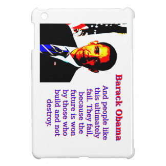 And People Like This - Barack Obama Cover For The iPad Mini