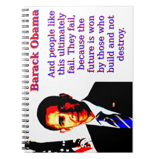 And People Like This - Barack Obama Notebook