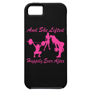 And She Lifted Weights Happily Ever After iPhone SE/5/5s Case