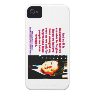 And So It Is Important - Bill Clinton iPhone 4 Case-Mate Case