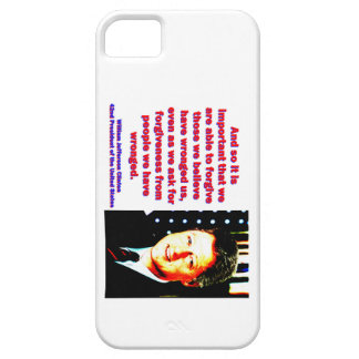 And So It Is Important - Bill Clinton iPhone SE/5/5s Case