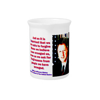 And So It Is Important - Bill Clinton Pitchers