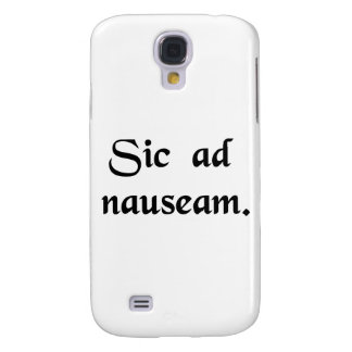 And so on to the point of causing nausea. galaxy s4 cover
