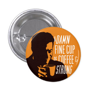 AND STRONG! PINBACK BUTTON