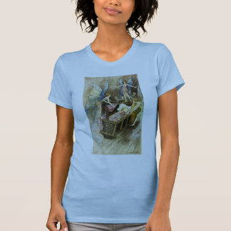 And, Sweetly Singing Round Thy Bed T-Shirt