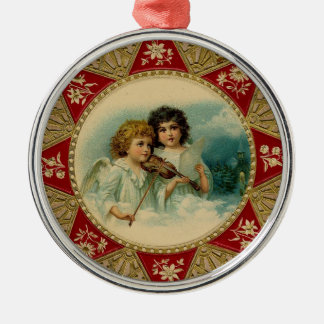 And the Angels Sing – Holiday Metal Ornament
