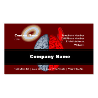 And the Battle Rages On (Good vs Evil) Double-Sided Standard Business Cards (Pack Of 100)