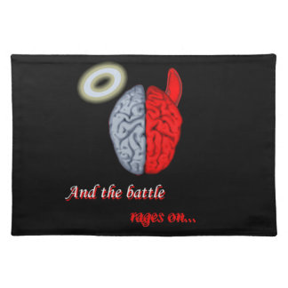 And the Battle Rages On (Good vs Evil) Placemat