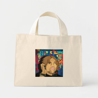 And the crowd goes... mini tote bag