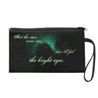 """""""And the stars never rise..."""" Wristlet Purse"""