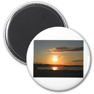 and the sun shall rise 2 inch round magnet