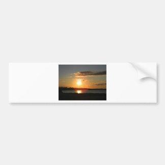 and the sun shall rise car bumper sticker