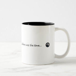 And the there was the time.. Two-Tone coffee mug