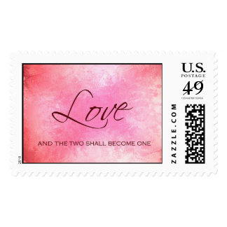 And the two shall become one postage stamp
