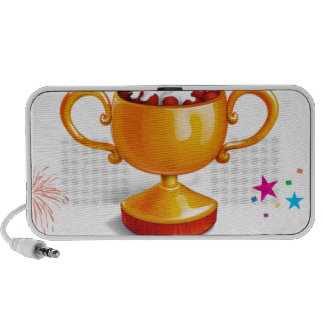 And the winner is dessert cup notebook speakers