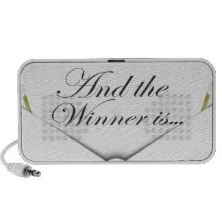 And the winner is envelope mini speakers