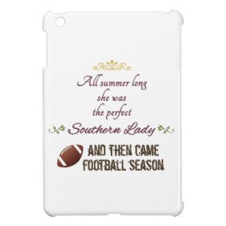 ...And Then Came Football Season iPad Mini Cover
