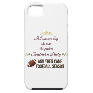 ...And Then Came Football Season iPhone SE/5/5s Case