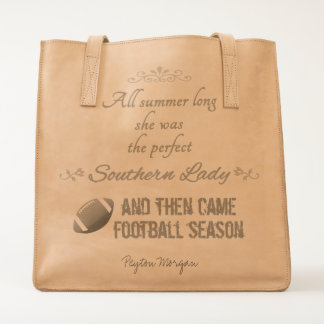 ...And Then Came Football Season Tote