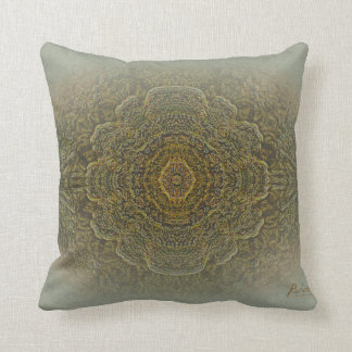 """AND THEN WE SAW IT"" mandala pillow"