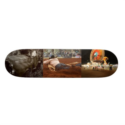 and they call the thing Ranch Rodeo Skate Deck