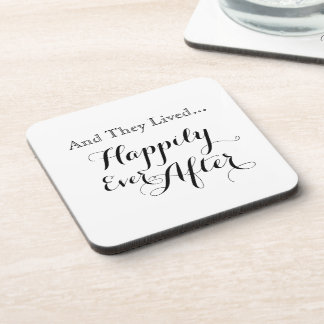 And They Lived Happily Ever After Coasters