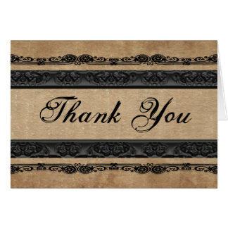 And They Lived Happily Ever After Thank You Stationery Note Card