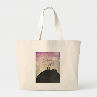 And They Lived Large Tote Bag