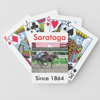 And They're off at Saratoga Bicycle Playing Cards