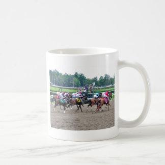 And They're off at Saratoga Coffee Mug