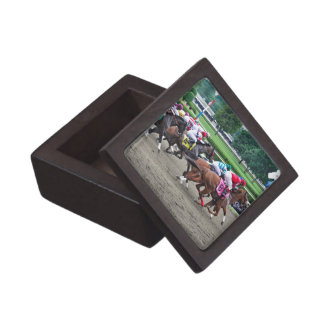 And They're off at Saratoga Keepsake Box