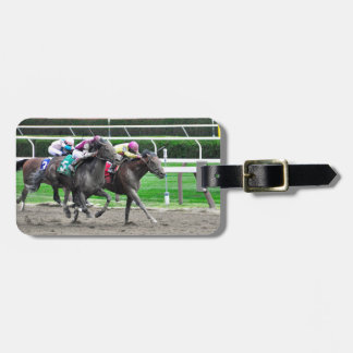 And They're off at Saratoga Luggage Tag