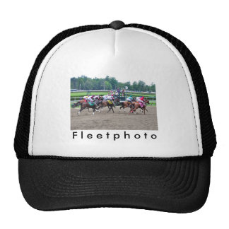 And They're off at Saratoga Trucker Hat