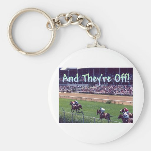 And They're Off! Key Chains