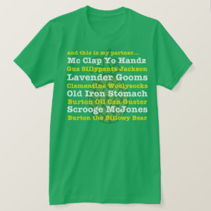 055126329 Nickname T-Shirts - T-Shirt Design & Printing | Zazzle
