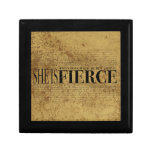 And though she be but little, she is fierce. gift boxes