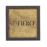 And though she be but little, she is fierce. premium trinket boxes