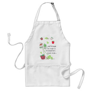.. and through the woods adult apron